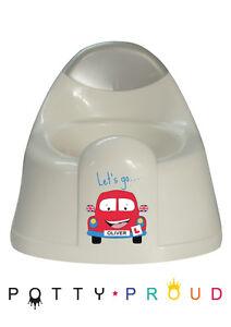 Personalised Car Design Training Potty Kids Bespoke Unique Toddler Boy or Girl