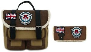 Loungefly Overwatch Tracer Messenger Bag And Wallet - New
