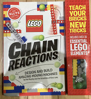 Lego Chain Reactions: Design and Build Amazing Moving Machines 100% Klutz Certif