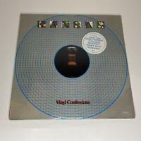 Rare Vintage KANSAS Vinyl Confessions LP Record/Vinyl CBS 1982 Factory sealed