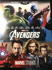 THE AVENGERS(BLU-RAY+DIGITAL)NO SLIPCOVER NEW UNOPENED