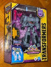 Transformers Bumblebee Cyberverse Adventures Deluxe Series Megatron Figure