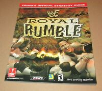 WWF Royal Rumble Strategy Guide for Sega Dreamcast