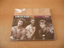 Maxi CD A-ha - The blood that moves the body - 1992 - The Gun Mix - RARE