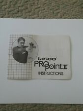 Tasco Propoint Ii Instructions Manual - Original