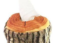 Environmental Original Wooden Bathroom Tissue Box Soft Log Cover Free Shipping