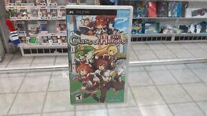 Class of Heroes (Sony PSP, 2009) cib