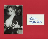 Kitten Natividad Ultra-Vixens Russ Meyer Actress Signed Autograph Photo Display