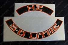 Suits Holden Monaro Sandman GTS Statesman HZ - Air Cleaner Decal 308 5.0L