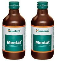 2 X Himalaya Herbal Mentat Syrup - Enhances Memory And Learning Capacity 200ml