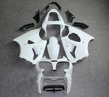 Unpainted ABS Injection Bodywork Fairing for KAWASAKI ZX6R 00-02/ZZR600 05-08