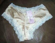 Jezebel Lingerie Glossy Stripe Lowrise Hipster Short Panty Underwear SMALL