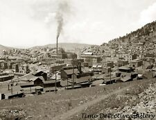 Victor, Colorado showing Gold Coin Mine - 1900 - Historic Photo Print