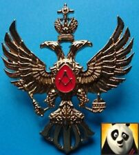 Russian Masonic Double Head Eagle Badge Repro Freemason Pin Brooches Uniform