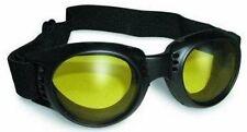 Yellow Tint Goggles Googles Motorcycle PADDED get them for Burning Man ATV Quad