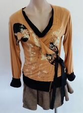 Viscose Wrap Hand-wash Only Casual Tops for Women