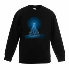 Glowing Christmas Tree Kids Jumper  Sweater - Gift Present Xmas