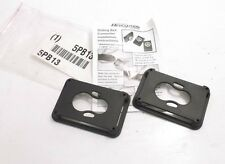 "HONEYWELL MILLER RIA-C2/1 Belt Attachment Clip - 6"" - Black - Prepaid Shipping"