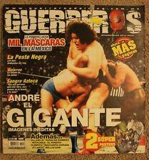 LUCHAS MEXICO, GUERREROS REVISTA,  ANDRE THE GIANT, MIL MASCARAS HURACAN RAMIREZ