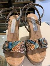 Stella McCartney Multi Coloured Wedge Sandals