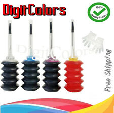 4-Color Bulk Ink Refill Kit for HP Inkjet Printer Cartridges