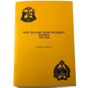 WW1 New Zealand Army Reinforcement Cap Badges Identification Reference Book