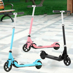 New 2021 Pro Children Electric Scooter Age 7-14 Folding E-Scooter Kids Kick Push