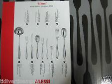ALESSI -SERVIZIO POSATE 75 PEZZI MAMI -ARTICOLO   SG38S75M