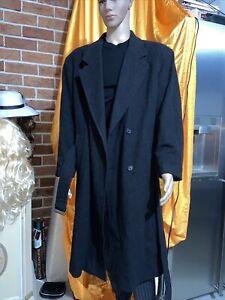 Men's Avenue 107R Winter Wool Cashmere Long Jacket  Coat XL
