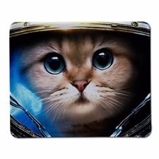 Cute space kitty cat mouse mat 220 x 180 x 2mm