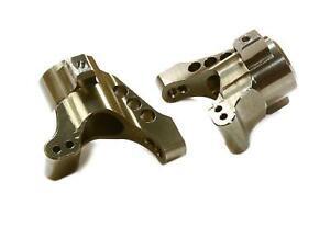 Integy Aluminum Rear Hub Carriers for LaTrax 1/18 Teton Part# C26510GREY