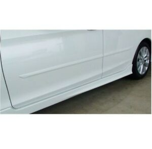 Set of Left & Right White Orchid Pearl Body Side Molding For Honda Accord 13-17