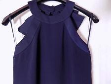 Ted Baker Halterneck Bow Back Size 12 UK Maxi Dress (NEW)