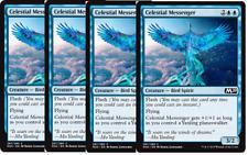 4x Celestial Messenger NM M20 Core Set 2020 INTRO DECK Common