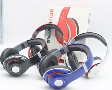 Wireless Foldable Bluetooth Stereo Headset Headphones + Mic For iPhone Samsung