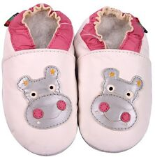 shoeszoo hippo white 2-3y S soft sole leather toddler shoes