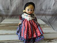 Vintage Madame Alexander GERMANY DOLL 7 In. International German Doll Collection