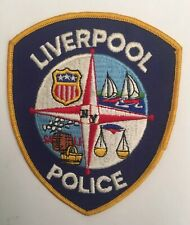 Liverpool Police, New York old cheesecloth shoulder patch