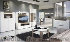 Oak Modern Flat Pack TV & Entertainment Stands
