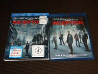 INCEPTION (Blu-ray + DVD, 2010, 2-Disc) Lenticular Slipcover BRAND NEW & SEALED