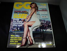 GQ September 2012 - Claire Danes homeland uncovered