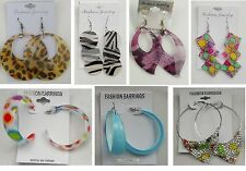 Wholesale Jewelry lots 10 pairs Colorful  Drop and Hoop Fashion Earrings #2003