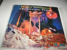 Roger Williams CHRISTMAS TIME lp Mono PROMO Concert Grand Orchestra Kapp Records