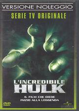 L'INCREDIBILE HULK - SERIE TV - EPIS. 1 + 2 - DVD (USATO EX RENTAL)