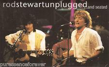 ROD STEWART - Unplugged... And Seated (German 15 Tk Cassette Album)