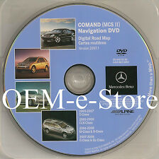2006 2007 2008 Mercedes ML 320 CDI 350 500 550 63 Navigation DVD Map U.S Canada