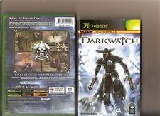 DARKWATCH XBOX / X BOX 360 DARK WATCH VAMPIRE 1ST PERSON SHOOTER