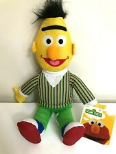 Large 16'' Sesame Street Bert Plush. Licensed Stuffed Animal Soft. New. 2019