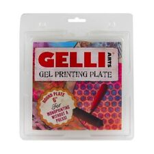 Gelli Arts ROUND Gel Printing Plate Monoprinting without a press - Choose Size