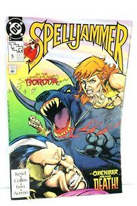 Spelljammer #5 Jungle Planet Boroda Oxenbar Death 1991 Comic TSR DC Comics F-